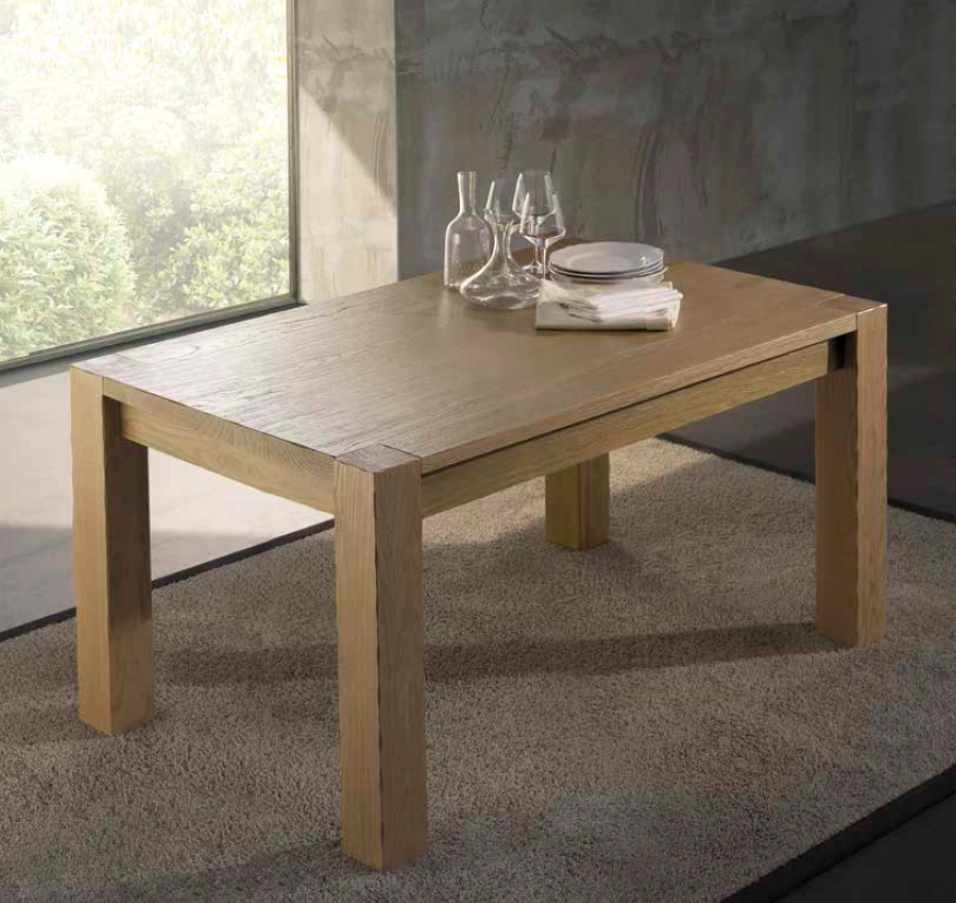 Tavolo tavolo rettangolari rettangolari allungabili legno - Tavoli rettangolari allungabili in legno ...