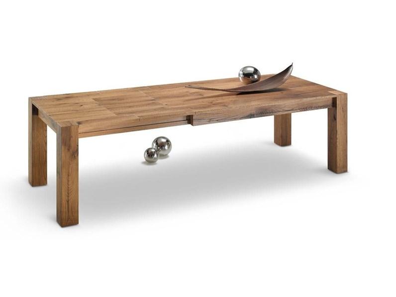 Tavolo in rovere antico spaccato for Zanotti arredamenti