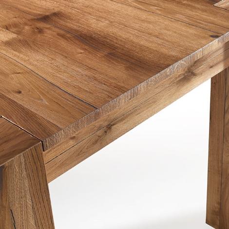 Tavolo in rovere antico spaccato tavoli a prezzi scontati for Loggia arredamenti