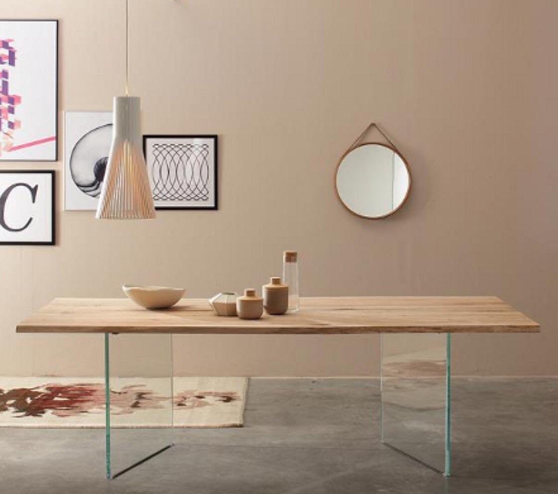 tavolo in rovere grezzo modello twins tavoli a prezzi