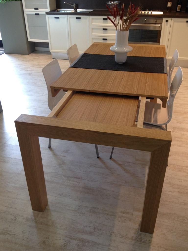 Tavolo tavolo in rovere impiallacciato 160x90 cm for Outlet tavoli moderni allungabili