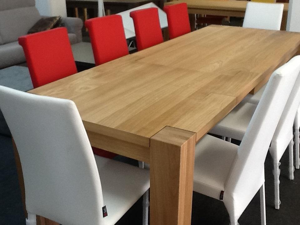 Tavolo in rovere massiccio nat tavoli a prezzi scontati - Tavoli regolabili in altezza prezzi ...