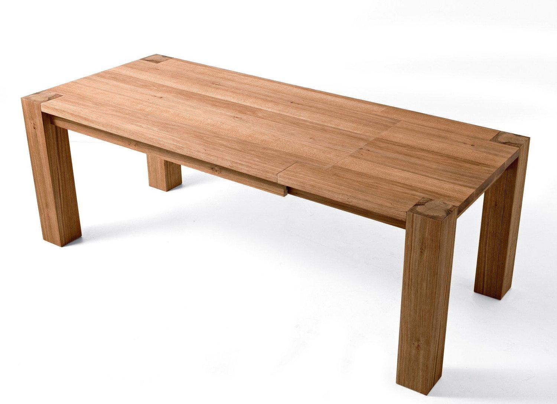 Tavolo in rovere massiccio tavoli a prezzi scontati for Tavoli rettangolari moderni