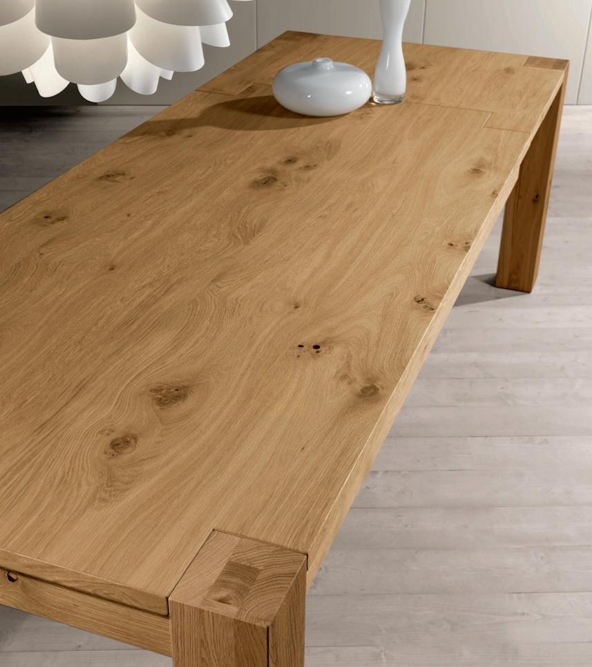 Tavolo rovere naturale scontato del 51 tavoli a prezzi scontati - Tavolo legno naturale ...