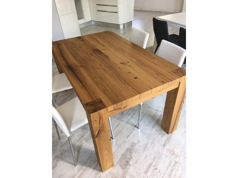 Tavolo in Rovere Vecchio L 160 x 95 cm allungabile sino a 260 cm