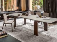 Tavolo in vetro allungabile TONIN casa - Tavoli a prezzi scontati