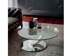 Tavolo in vetro Cobra inox Cattelan in Offerta Outlet