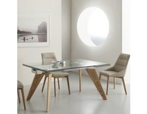 Tavolo in vetro moderno di La Seggiola PREZZI OUTLET