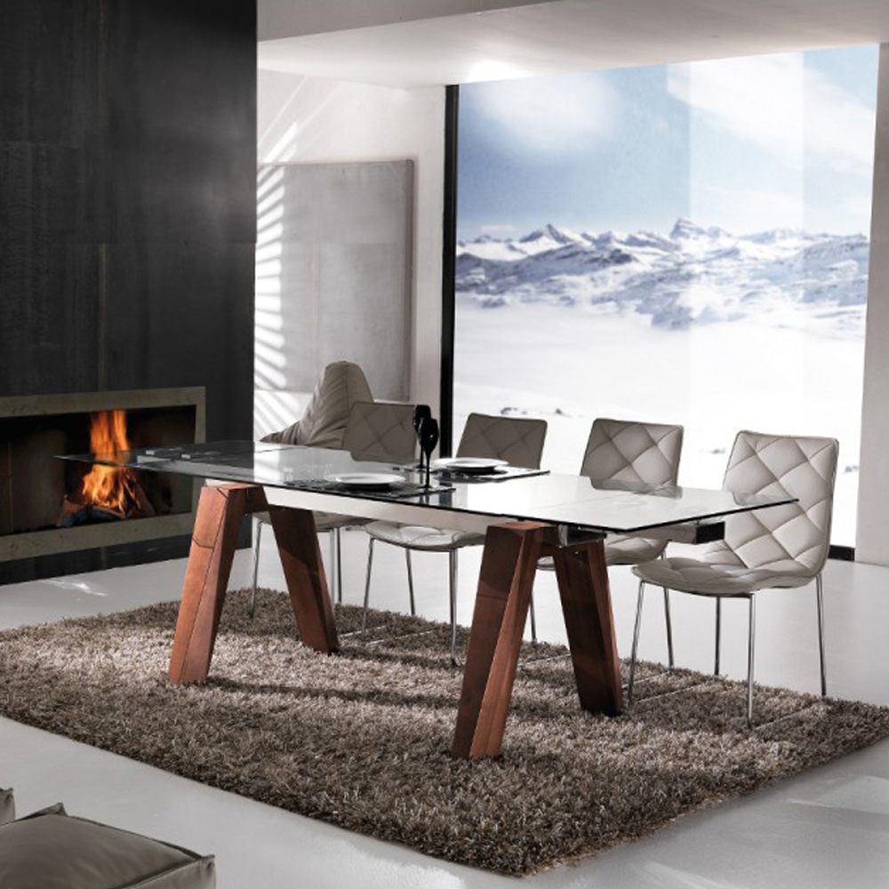 Tavolo in vetro offerta tavoli a prezzi scontati for Tavoli rettangolari moderni