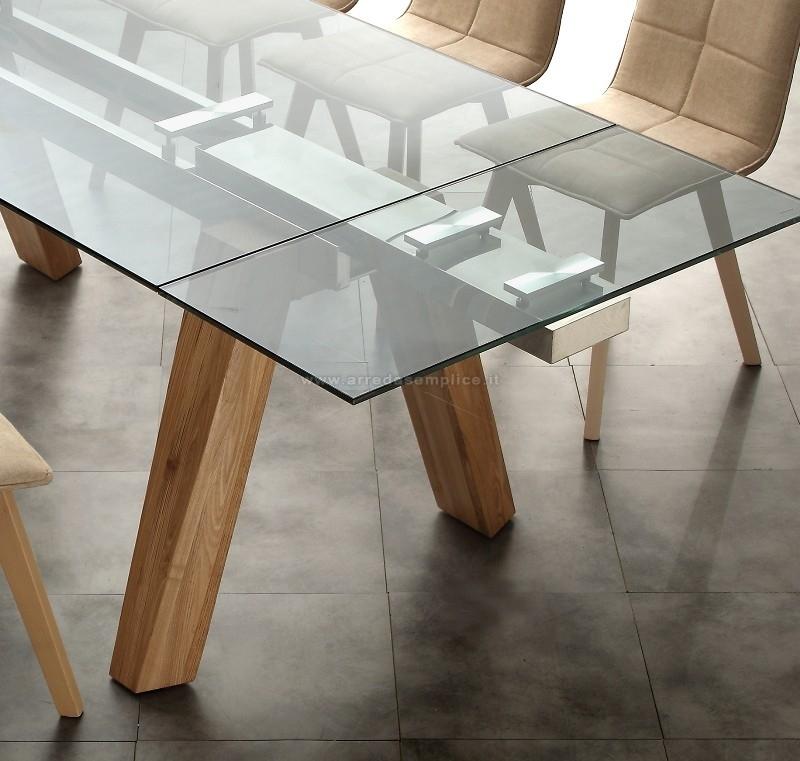 Tavolo in vetro offerta tavoli a prezzi scontati for Tavoli in vetro allungabili prezzi