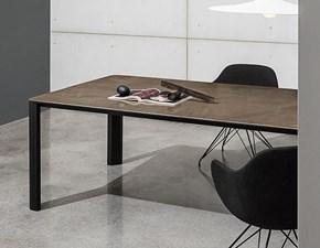 Tavolo in vetro quadrato Kodo Sovet a prezzo ribassato