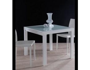 Tavolo in vetro quadrato Space art. 668 La seggiola a prezzo scontato