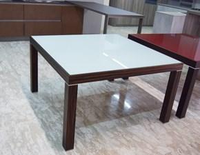 Tavolo in vetro quadrato Tc8013-57v1 Tonin casa in Offerta Outlet