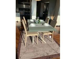 Tavolo in vetro rettangolare Artistico e malik Bontempi casa in Offerta Outlet