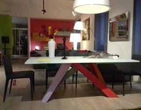 Tavolo in vetro rettangolare Big table200 di Bonaldo a prezzo scontato