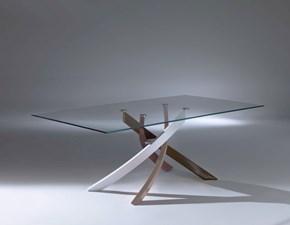 Tavolo in vetro rettangolare Bontempi artistico  Bontempi casa in Offerta Outlet