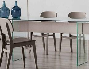 Tavolo in vetro rettangolare Br021 Artigianale a prezzo ribassato