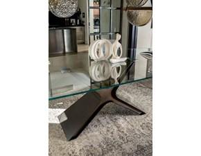 Tavolo in vetro rettangolare Calliope xxl Mottes selection a prezzo ribassato