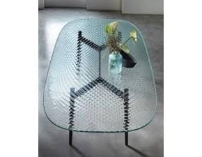 Tavolo in vetro rettangolare Coral beach Fiam italia a prezzo ribassato