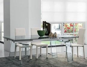 Tavolo in vetro rettangolare Crystal plus * Target point a prezzo ribassato