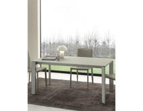 Tavolo in vetro rettangolare Diamante Idea confort a prezzo scontato