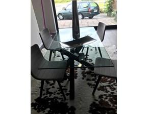 Tavolo in vetro rettangolare Duepuntozero Artigianale a prezzo scontato