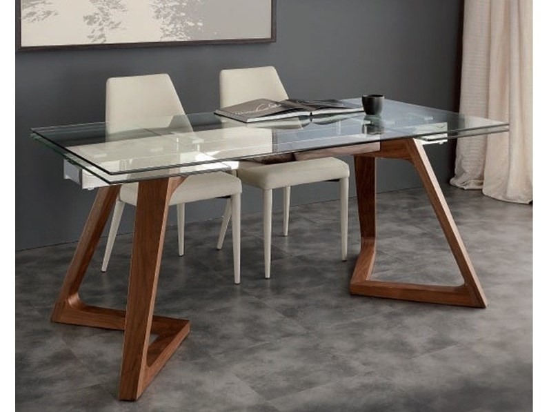 Tavolo In Vetro Rettangolare Gaudi La Seggiola In Offerta Outlet