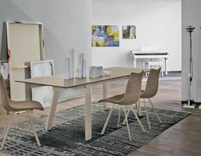 Tavolo in vetro rettangolare Giove 160 Mottes selection a prezzo scontato