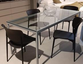 Tavolo in vetro rettangolare Helsinki tavolo Desalto a prezzo scontato