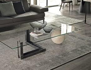 Tavolo in vetro rettangolare Levante Cattelan in Offerta Outlet