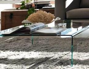 Tavolo in vetro rettangolare Real Connubia a prezzo ribassato
