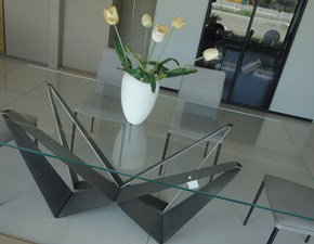 Tavolo in vetro rettangolare Skorpio Cattelan in Offerta Outlet