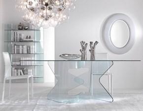 Tavolo in vetro rettangolare Tavolo in vetro mod.axel scontato del 30% Artigianale a prezzo ribassato