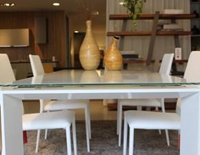 Tavolo in vetro rettangolare Twice Bonaldo