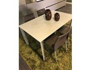 Tavolo in vetro rettangolare Upper sedie noel Artigianale a prezzo ribassato