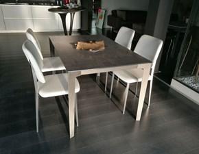 Tavolo in vetro rettangolare Vertigo-patty Eurosedia a prezzo ribassato