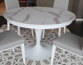 Tavolo Rotondo Bianco Usato.Offerte Di Tavoli Rotondi Allungabili A Prezzi Outlet