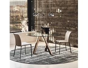 Tavolo in vetro rotondo Ray Cattelan italia a prezzo ribassato