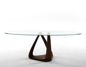 Tavolo in vetro rotondo Rizoma- 6907fsv_glass Tonin casa a prezzo ribassato