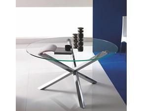 Tavolo in vetro rotondo Trio di Ingenia a prezzo scontato
