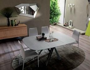 Tavolo in vetro sagomato Bombo Ozzio in Offerta Outlet