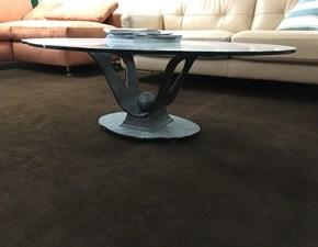 Tavolo in vetro sagomato Naxos Vama divani a prezzo ribassato