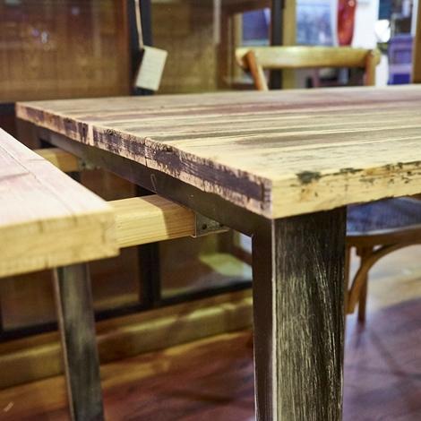 tavolo industrial allungabile all 240 in offerta super ...