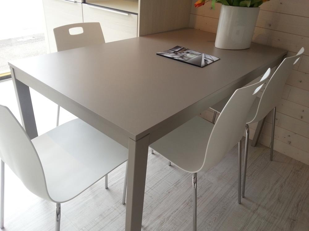 Tavolo ingenia 4 sedie moderno rettangolari allungabili for Tavoli allungabili