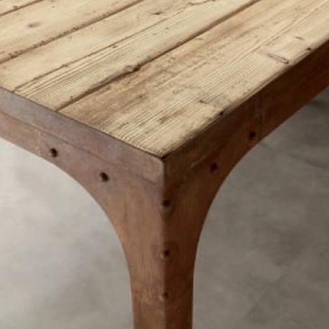 Tavolo invecchiato scontato del 38 tavoli a prezzi for Tavolo legno invecchiato