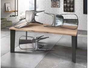 Tavolo Iron Artigianale in legno Fisso