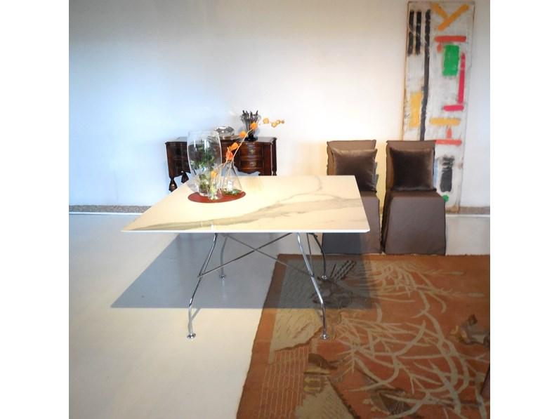 Tavolo kartell quadrato glossy in marmo scontato 25 - Tavolo desalto 25 prezzo ...