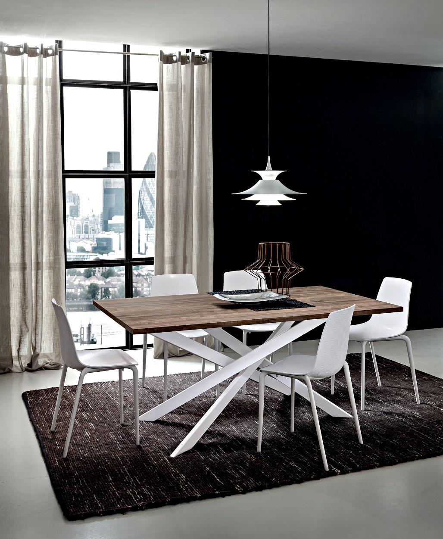 Tavolo renzo allungabile rettangolare tavoli a prezzi - Meccanismo per tavolo allungabile ...