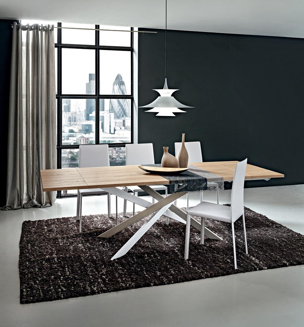 Tavolo renzo allungabile rettangolare tavoli a prezzi for Tavolo rettangolare allungabile
