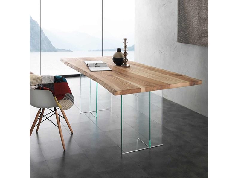 Tavolo La Seggiola Bio-glass Rettangolari Fissi Legno